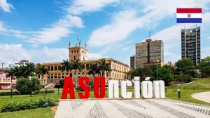 Viaje para assunção no Paraguai