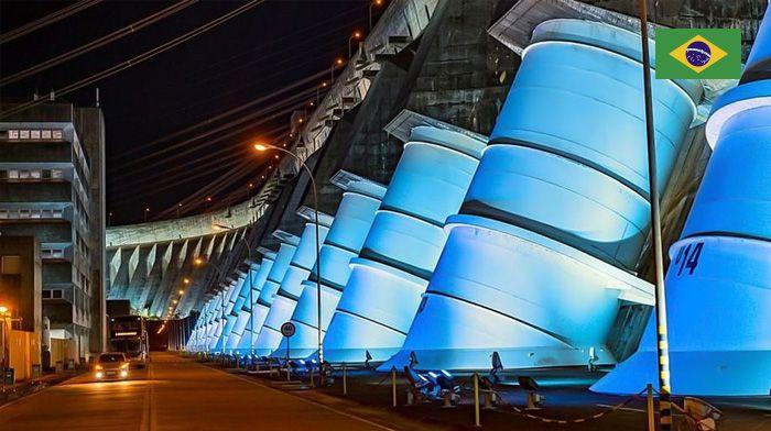 Iluminação de Itaipú