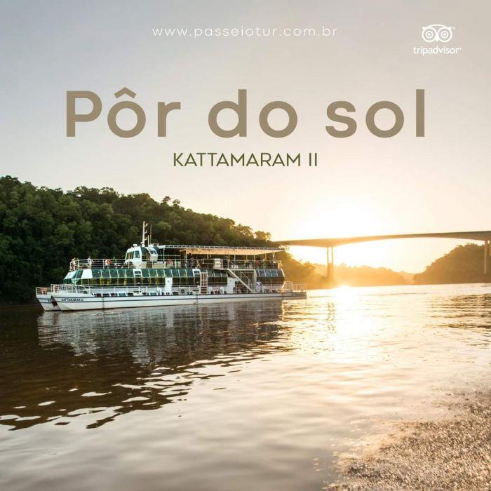 Kattamaram 2 por do sol