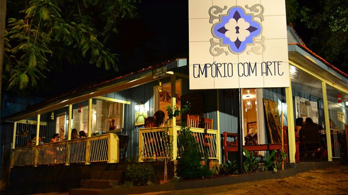 Restaurante Empório com Arte